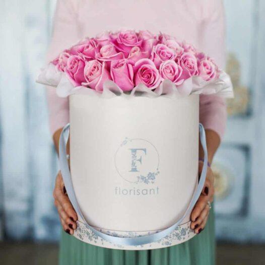 4 1 e1487936086201 526x526 - Букет из розовых роз №1-003