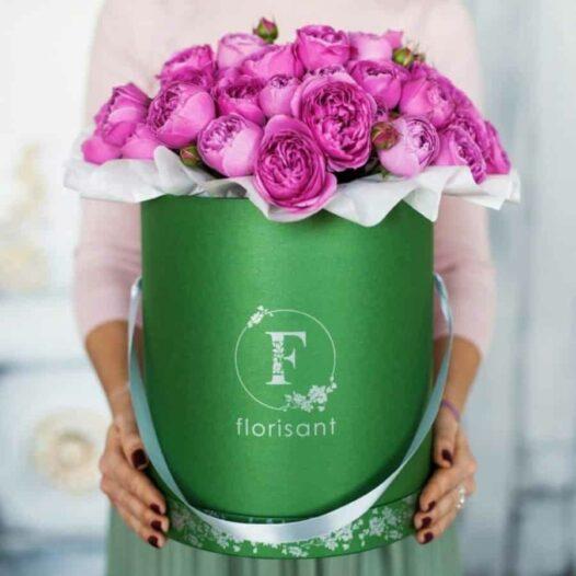 Цветочная Флорисант: Цветы и букеты в шляпных коробках