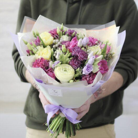 2048A2E1 ACA3 41D9 8284 EBC6810F3DAA 526x526 - Цветочный комплимент в розово-кремовойгамме N22-023