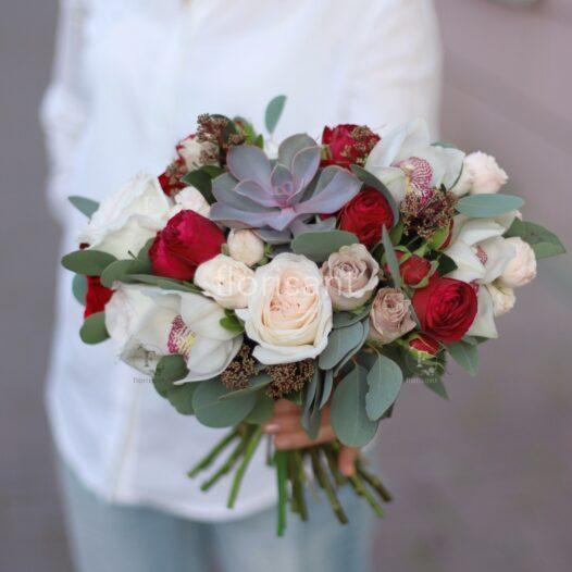 20190830182433 IMG 9459 01 526x526 - Букет невесты N wed-2027